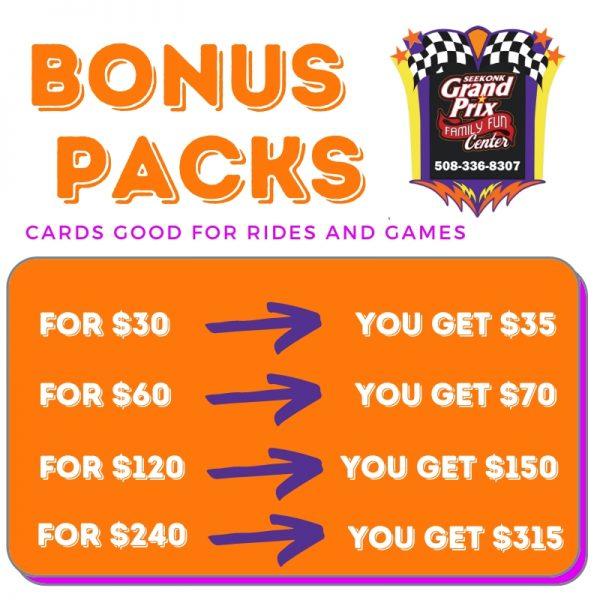 Bonus Packs